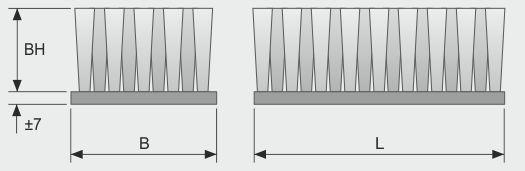 Koti tufted-brush--belt-brush-flat